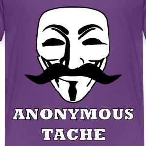 Anonymoustache Shirts - Kinderen Premium T-shirt