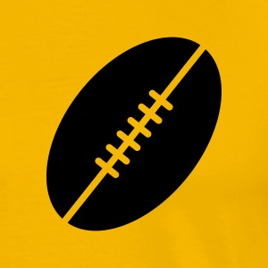 Football T-skjorter - Premium T-skjorte for menn