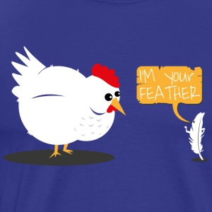 I'm your feather T-shirt - Mannen Premium T-shirt