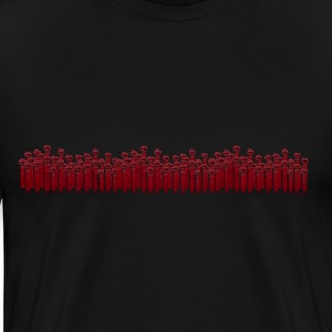 Together We Stand (Fists Raised) - Men's Premium T-Shirt
