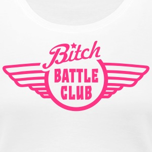 bitchy battle fight club v1 T-Shirts - Women's Premium T-Shirt