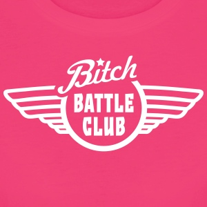 bitchy battle fight club v1 T-Shirts - Women's Organic T-shirt
