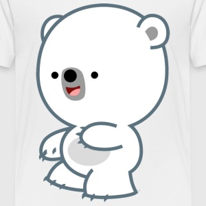 Mischievous Little Polar Bear- Cheerful Madness!! Shirts - Teenage Premium T-Shirt