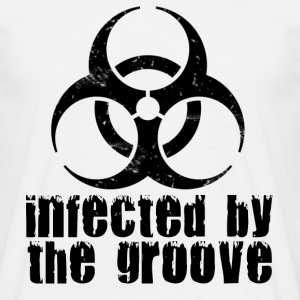 infected by the groove Tee shirts - T-shirt Homme