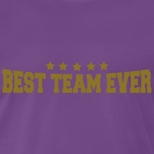 Best Team Ever T-shirts - Herre premium T-shirt