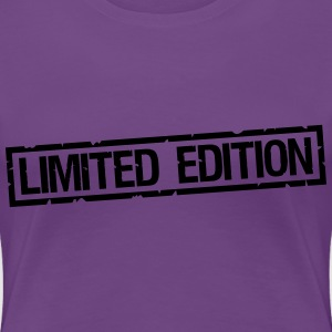 Limited Edition Print T-shirts - Dame premium T-shirt