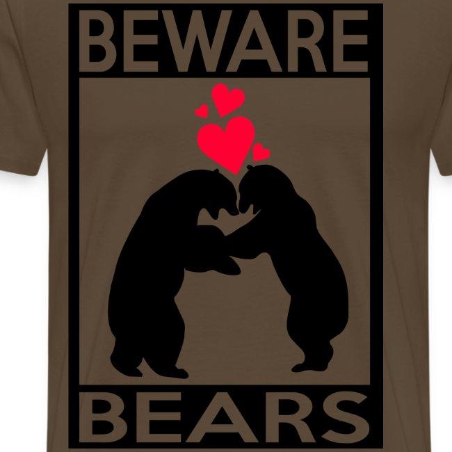 T-shirt Beware bears