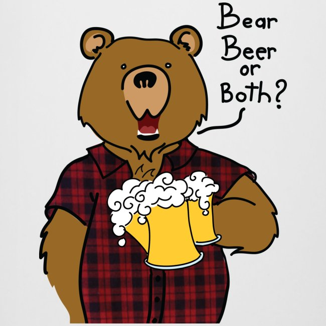 Chope beer bear or both? Logo devant