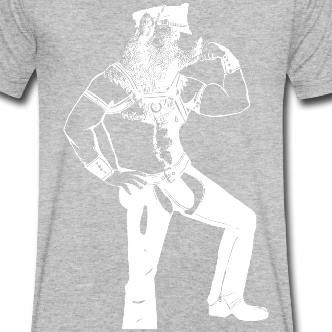 T-shirt leather bear