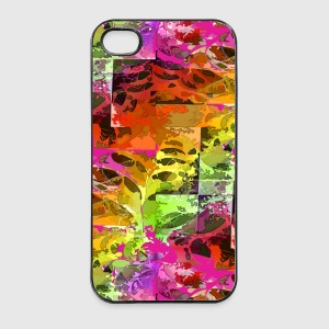 Psychedelic Spider Web - iPhone 4/4s Hard Case