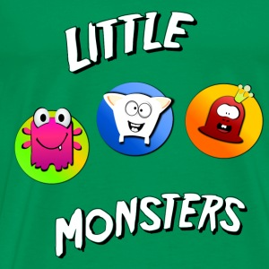 Little monster Triple 1 T-shirts - Mannen Premium T-shirt