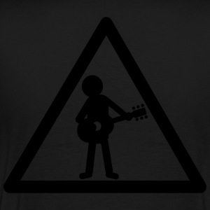 attention_guitariste Tee shirts - T-shirt Premium Homme