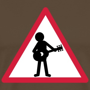attention_guitariste_2 Tee shirts - T-shirt Premium Homme