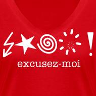 Ontwerp ~ T-shirt excusez-moi