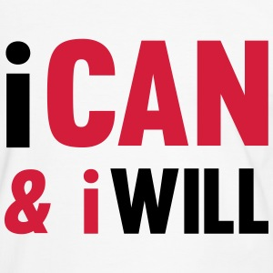 I Can And I Will Tee shirts - T-shirt contraste Homme