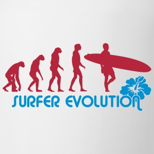 surfer evolution Bottles & Mugs - Mug