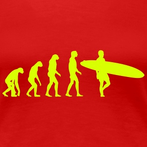 surfer evolution T-Shirts - Women's Premium T-Shirt