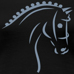 Sports Horse T-Shirts - Frauen Premium T-Shirt