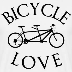 Tandem bike  T-Shirts - Men's T-Shirt