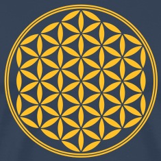 Vector - Flower of Life - 02, 1c, sacred geometry, energy, symbol, powerful, healing, protection, cl T-Shirts