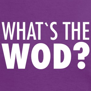What´s The WOD Tee shirts - T-shirt contraste Femme