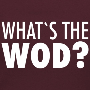 What´s The WOD T-Shirts - Women's Scoop Neck T-Shirt