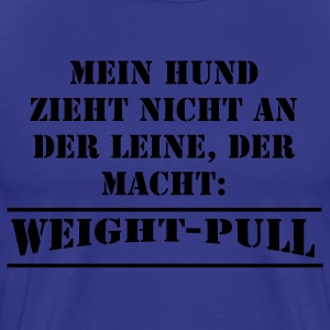 Weight-Pull small T-Shirts - Männer Premium T-Shirt