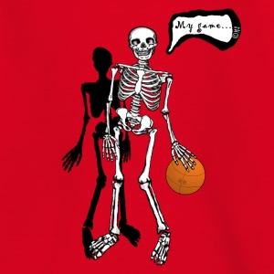 skeleton my game T-shirts - T-shirt tonåring