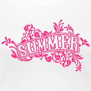 summer T-Shirts - Frauen Premium T-Shirt
