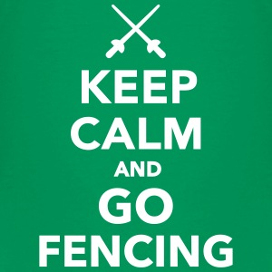Keep calm and go fencing T-Shirts - Kinder Premium T-Shirt