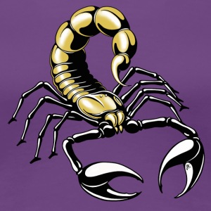 scorpion - gold - yellow - Women's Premium T-Shirt