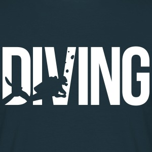 diving scuba T-Shirts - Men's T-Shirt