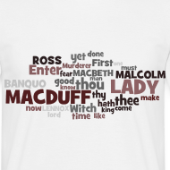 Motiv ~ William Shakespeare: Macbeth - T-Shirt