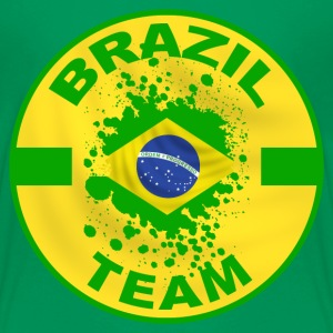 brazil country team Shirts - Teenage Premium T-Shirt
