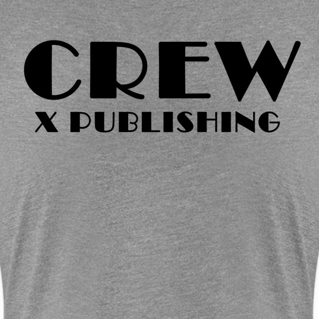 T-shirt med text på baksida - Crew X Publishing