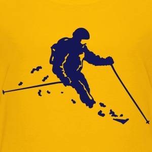 ski freeride T-shirts - Teenager premium T-shirt