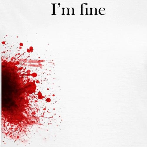 Zombie Krieg Terror Shirt - I'm fine