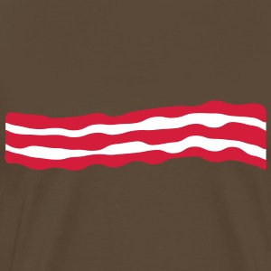 Bacon T-skjorter - Premium T-skjorte for menn