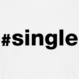 Hashtag Single T-Shirts - Men's T-Shirt