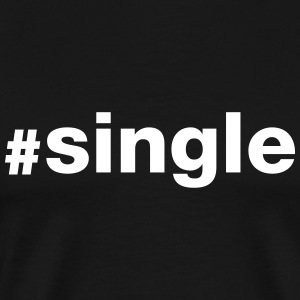 Hashtag Single T-shirts - Premium-T-shirt herr