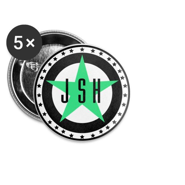 JSH Button Set S Logo #13-gb