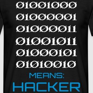 Binary - Hacker T-Shirts - Männer T-Shirt