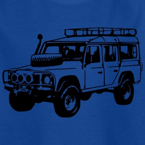Kids T-shirt: Land Rover Defender, Jeep, SUV - Kids' T-Shirt