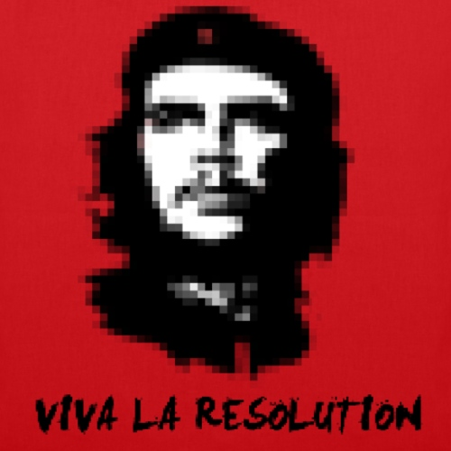 Viva La Resolution Pixel Che Guevara