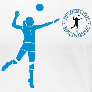 volleyball team T-skjorter - Premium T-skjorte for kvinner
