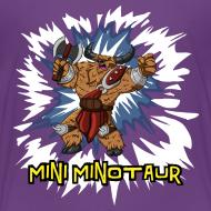 Design ~ Mini Minotaur (Dark Shirt Design)
