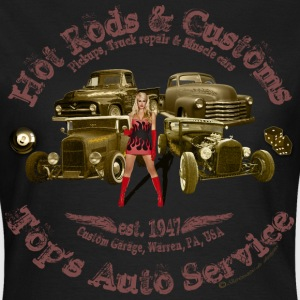 hot rods customs auto service 1947 vintage - Women's T-Shirt