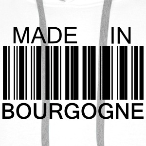 Made in Bourgogne Sweat-shirts - Sweat-shirt à capuche Premium pour hommes