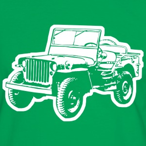 Jeep (Differenzbild) T-Shirts - Männer Kontrast-T-Shirt