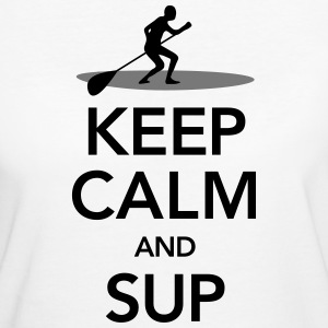 Keep Calm And SUP T-Shirts - Women's Organic T-shirt
